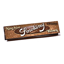 Smoking Brown King Size Rolling Papers