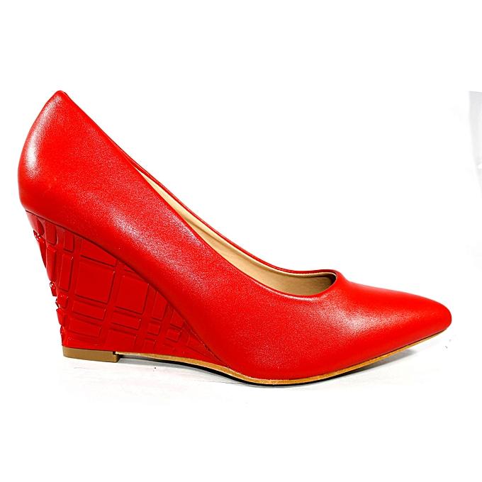 ddfa3a730a1 Cat Walk Women Fancy Coat Shoes Wedge Heels   Best Price
