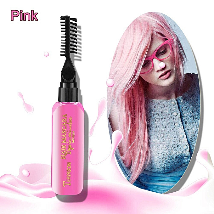 Generic 1PC 120 ML Temporary Hair Color Dye Cream Disposable DIY ...