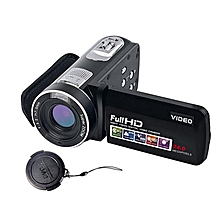 24MP 1080 HD Digital Camera Anti-Shake Camcorder Video CMOS Micro black