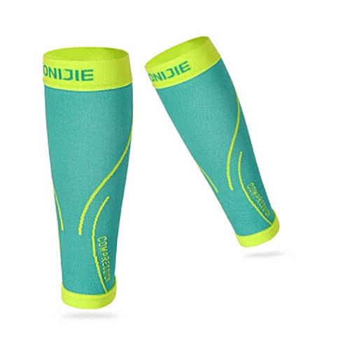 a0d040b300 AONIJIE 1 Pair Professional Compression Leg Sleeve Shin Guard Cycling Leg  Warmers Football Basketball Sports Calf Support(green)