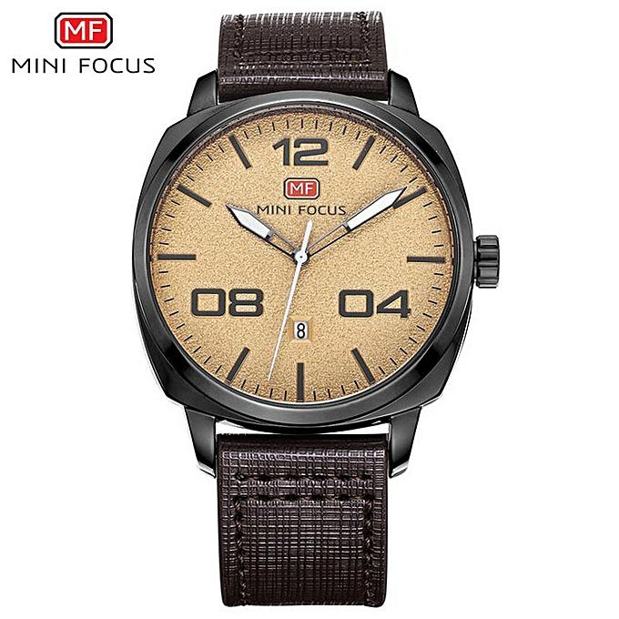 a4eb44947ff0d6 2019 Fashion Minimalist Quartz Watch Men Date Display Black Dial Leather  Strap Top Brand Luxury Wristwatches