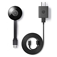 Chromecast Media Streaming Device - Black