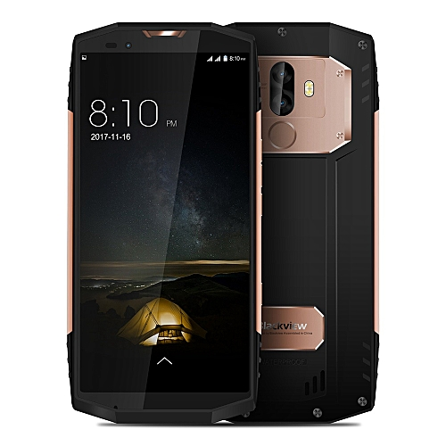 Smartphone 5.7 Inch 4G LTE Waterproof IP68 6GB 128GB MT6757CD Octa-core Android 7.1 - Gold