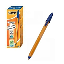Bic Biro Sharp Pointed Blue - 20pcs