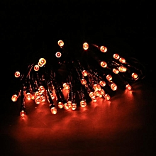 Solar Powered 60 LED Light String For Room Garden Home Christmas Party Decoration Waterproof-Blue