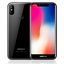 DOOGEE X70, 2GB+16GB, Dual Back Cameras, Face ID & DTouch Fingerprint Identification, 5.5 inch Android 8.1 MTK6580A Quad Core up to 1.3GHz, Network: 3G, OTA, Dual SIM(Black)