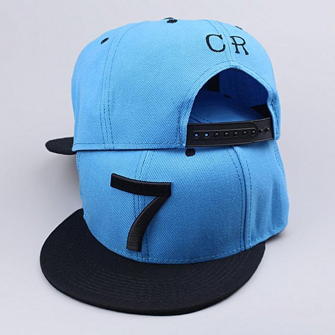 741196bd0a7d81 ... new Cristiano Ronaldo black sky blue gray CR7 Baseball Caps hip hop  Sports Football hat men&women ...