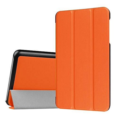 Cool Ipad Tablet Case Folding Stand Leather Case Cover Holder For Dragon Touch S7 7 Inch Or Orange Home Interior And Landscaping Staixmapetitesourisinfo