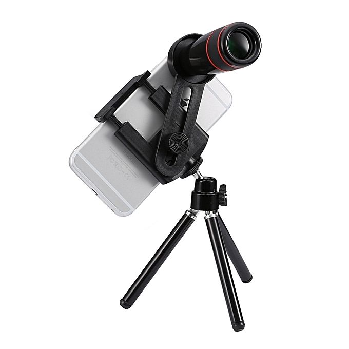 dd9fa92bc2c149 ... Universal 12x Zoom Optical Telescope Telephoto Camera Lens Kit For Iphone  6s and 6s Plus, ...