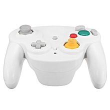 2.4G Wireless Controller Game Gamepad + Receiver For Nintendo Gamecube NGC Wii White