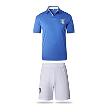 Italy National Team Jersey And Shorts For Men (White)
