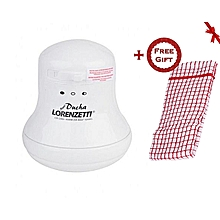 Instant Heater - for Hot Shower + a Free Hand Towel