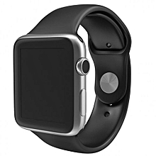 SIM/TF Bluetooth Sport Pedometer Wrist Watch A1G08 Smartwatch For Android Smartphone And Apple 5 5S 6 6 Plus (black)