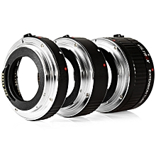 DG - C 12MM 20MM 36MM AF Auto Focus Macro Extension Tube Set for  EOS Series Camera