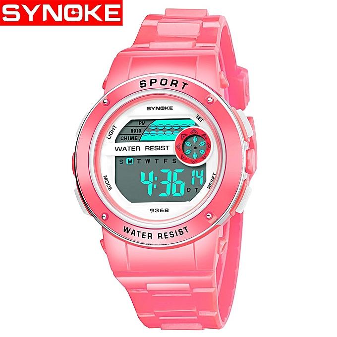 b637108d9e23 Children s Watches Kids Wrist Watch Back Light Alarm 30m Waterproof LED  Display Digital Watch For kids ...