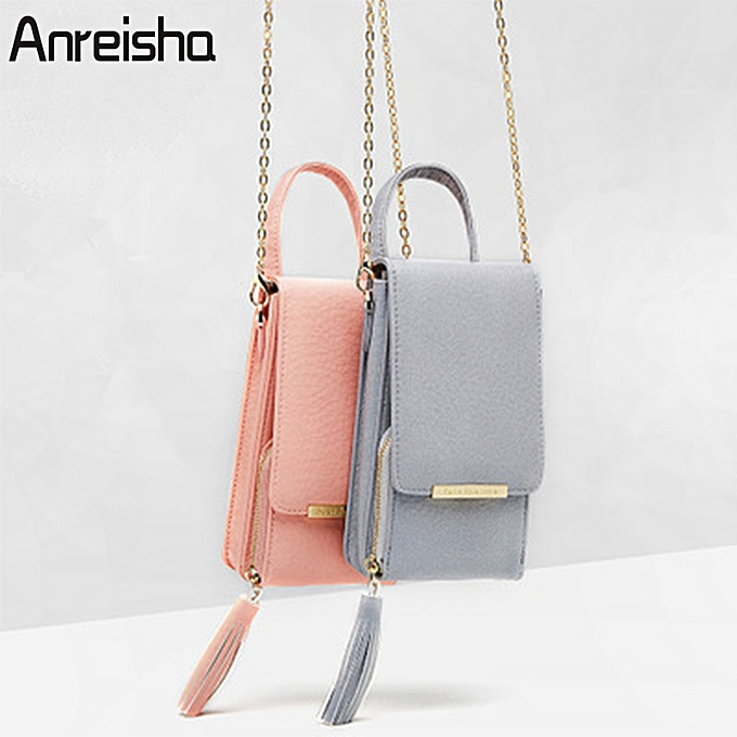 a70a79f3fad ... Chain Small Purse. Generic Women Wallet High Quality Leather Card  Holder Female