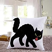 Halloween Pillow Cases  Linen Sofa Pumpkin ghosts Cushion Cover Home Decor C
