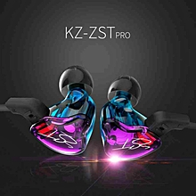 Colorful In Ear Earphone Hybrid Headset HIFI Bass Noise Cancelling Earbuds BDZ