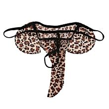 Men Lingerie G-string T-back Thongs Underwear Elephant Pants Briefs Bottom