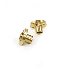 2pcs Brass Screw Nut for 8mm T8 Lead Threaded Rod 3D Printer Parts Z Axis