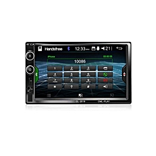 7''Bluetooth Car Stereo Radio 2DIN Mirror Touch Link MP5 Player AUX Audio FM USB