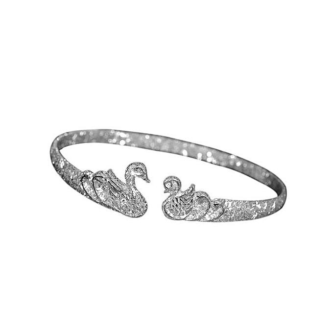Buy Generic Swan Bracelet Silver Bracelet Fashion 925 Silver Gifts