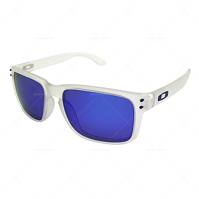 546bea7a69c Oakley Holbrook Polarized Sunglasses OO9102 - WHITE BLUE   Best ...