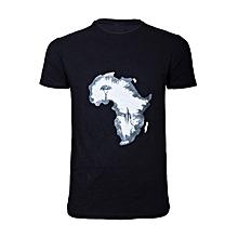Black Afro T-shirt