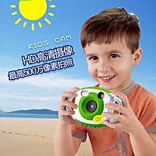 AMKOV 5MP HD Mini Kids Camera Portable Cute Kid Creative Neck Children Camera Photography Support Video Recording 32GB SD Card JY-M