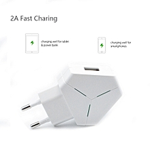 2.1A Fast Charing LED USB 2 Port Wall Home Travel AC Charger Adapter For LG G5