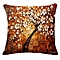 Africanmall store Tree Leaves Sofa Bed Home Decoration Festival Pillow Case Cushion Cover-As shown