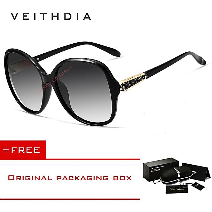 674e29d47 VEITHDIA Retro Sun glasses Polarized Luxury Ladies Brand Designer Women  Sunglasses Eyewear oculos de sol feminino