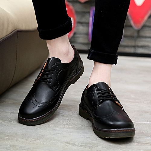 34b5d90ae9 Generic Summer Block British Men s Shoes Fashion Small Leather Shoes  Fashion Leisure Fashion Men s Leisure Leather Shoes Men