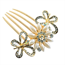 Leegoal Vintage Jewelry Crystal Hair Clips Hairpins- For Hair Clip Beauty Tool B-AS Shown