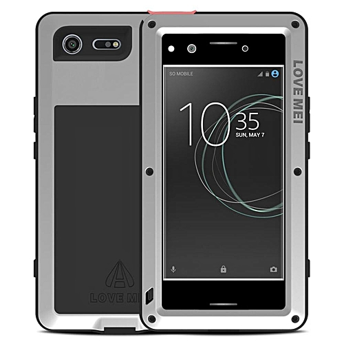 huge discount 27bea f8161 Xperia XZ Premium Waterproof Case, Shockproof Snowproof Dustproof Durable  Aluminum Metal Heavy Duty Full-body Protection Case Cover for Sony Xperia  XZ ...