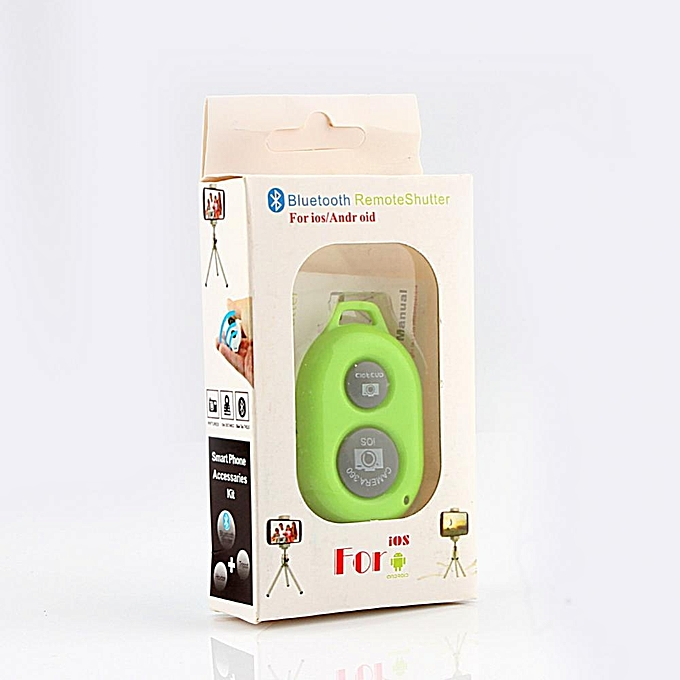 Remote Control Wireless Bluetooth Remote Camera Shutter Self-timer Control  For IOS And Android
