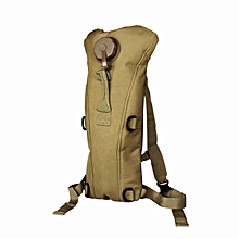Hydration Water Bag Pouch Backpack Bladder Hiking Climbing Survival 3L KH