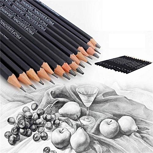 14PC Painting Tool 6H-12B Professinal Sketch Art Drawing Pencil Sketching  Pencil