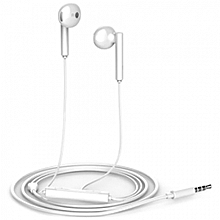 HUAWEI AM115 Earphones Half In-ear Answering Phone Song Switch Microphone -WHITE