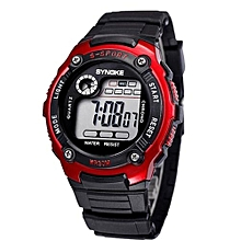 Kids Watches Children LED Digital Watch Girls Wrist Watch Boys Clock Child Sport Digital-watch For Girl Boy Surprise Gift(Red)