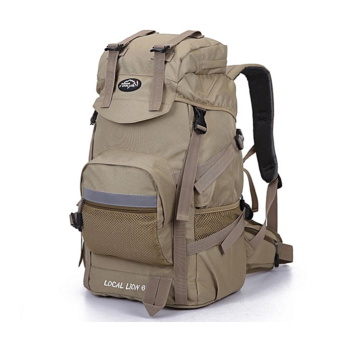 45L Large Capacity Outdoor Travel Backpack Waterproof Nylon Backpack For  Women Men bdbcb9d2a6351
