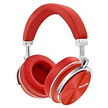 Bluedio T4S (Turbine) Active Noise Cancelling Over-ear Swiveling Wireless Bluetooth Headphones with Mic