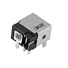 HP-DC Power Jack Socket Port Connector DC Power Jack for Laptop LENOVO G580 silver & black