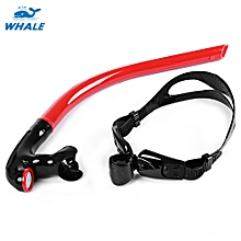 Swimming Tube Center Snorkel For Diving - Red