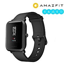 Xiaomi AMAZFIT Bip Pace Youth GPS Bluetooth 4.0 IP68 Smart Watch International Version Black