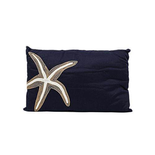Star Fish Cushion - Navy Blue