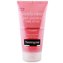 Visibly Clear Pink Grapefruit Daily Scrub, 150ml
