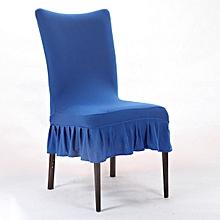Honana Elegant Pure Color Elastic Stretch Chair Seat Cover Dining Room Home Wedding Deco