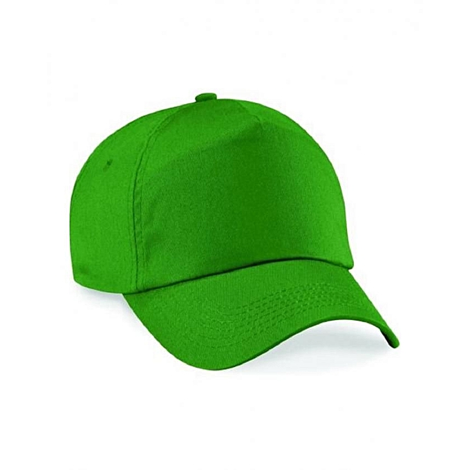 Generic Green Plain Baseball Hat   Best Price  d02f177305e